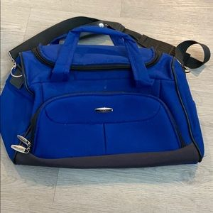 Vintage Pierre Cardin Carry On Travel Bag